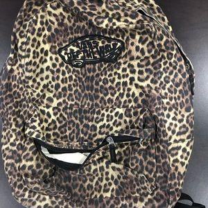 Vans Cheetah Backpack Gently Used